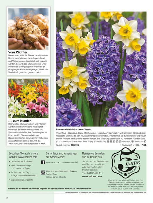 Katalog: Für Mehr Tipps Zum Garten Und Pflanzen Schauen Sie Auch Auf  Bakker.com