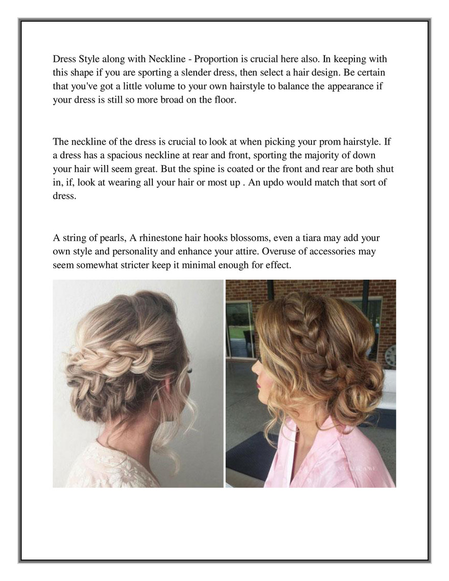 My publications - Prom Hair Style Advice From A Pro - Page 4 ...