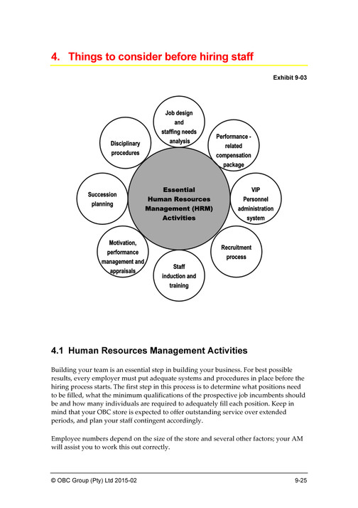 activity diagram for human resource management system