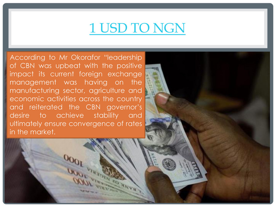 My Publications Dollar To Naira