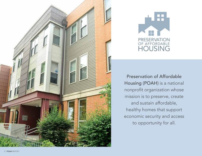 Preservation of Affordable Housing - POAH 2018 Brochure - Page 1