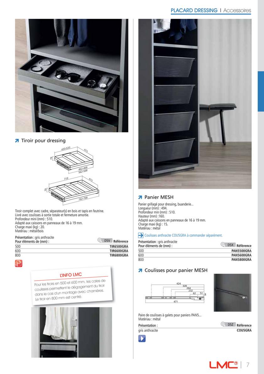 Profondeur D Un Placard Dressing lmc group - 2019 11 zoom dressing ligne pure fr bd - page 6