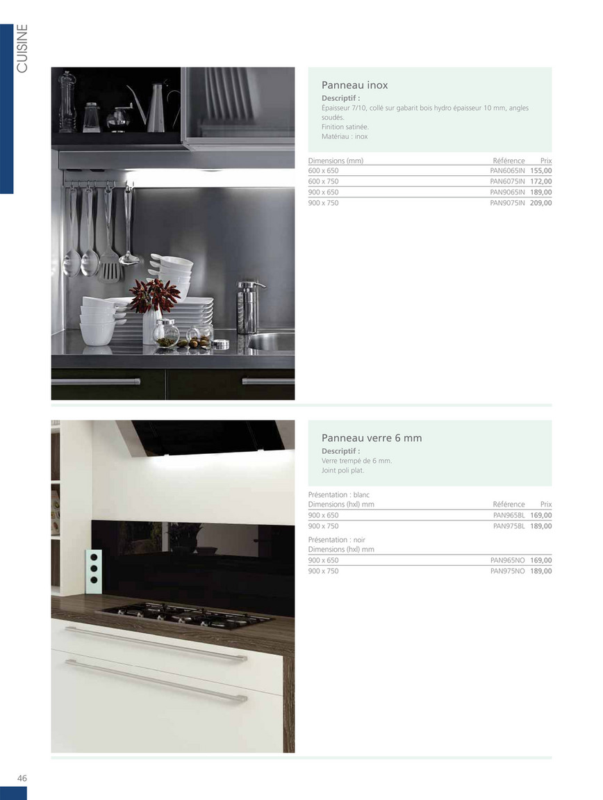 Prix Des Cuisines Ixina lmc group - 2019 cuisines ixina - page 48-49 - created with