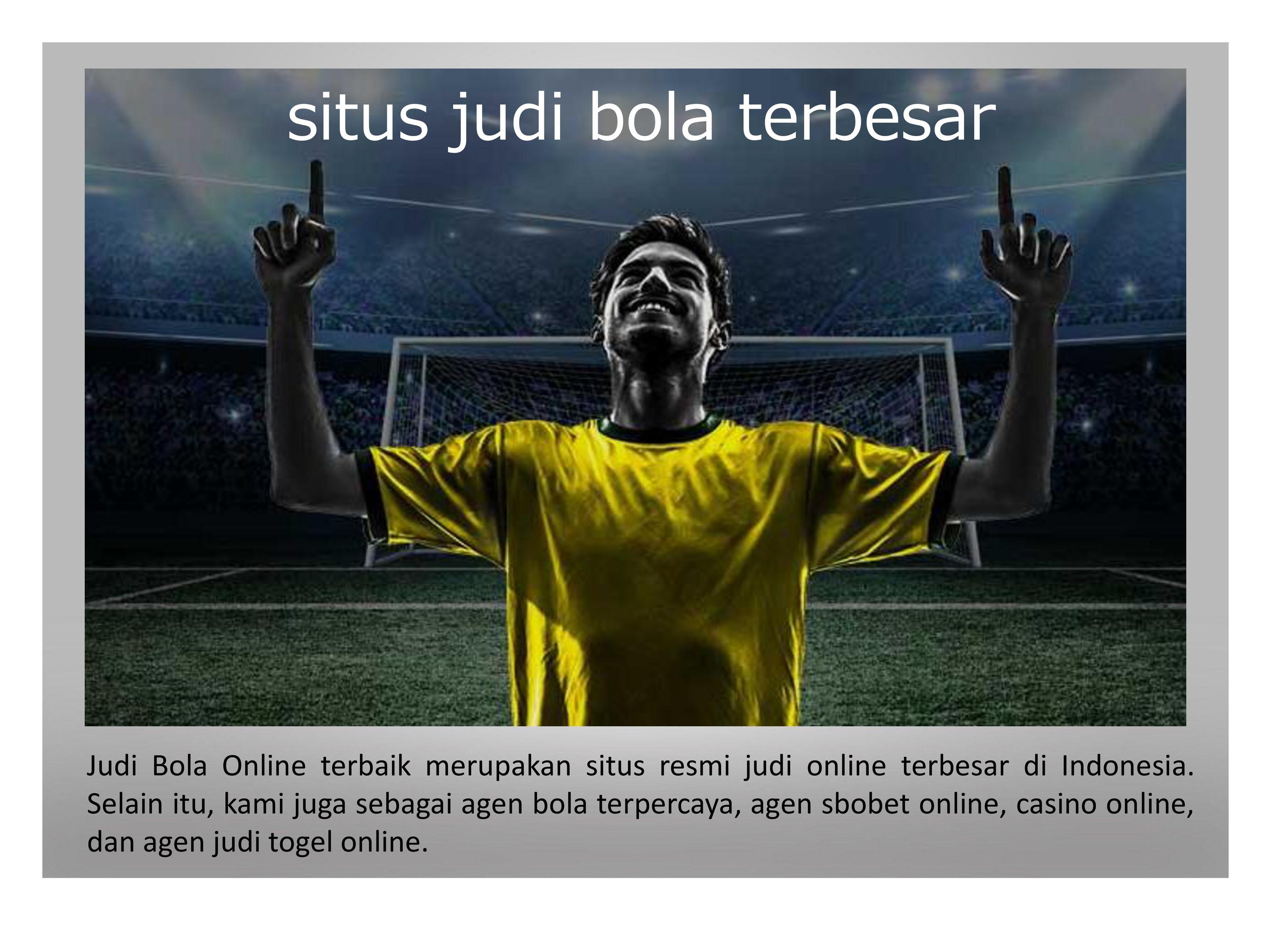Judi Bola Terbaik Daftar Situs Judi Bola Online Terpercaya Page 5 Created With Publitas Com