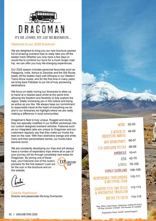 Dragoman - Dragoman Brochure 2020 - Page 1 - Created with