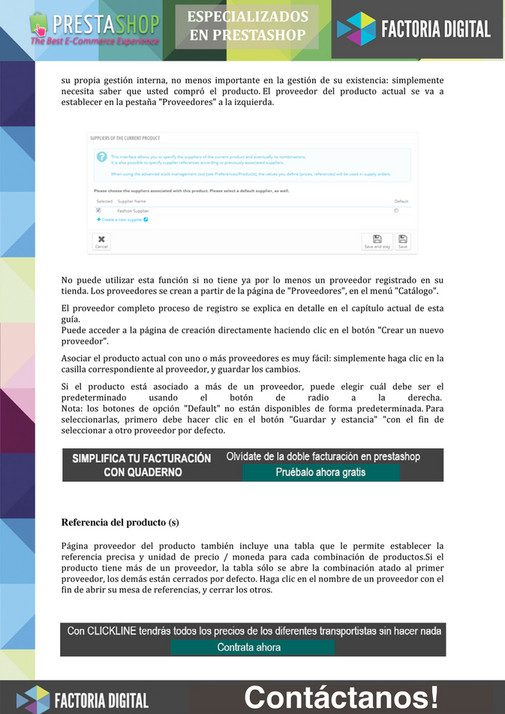My publications - PRESTASHOP V1 6 - Page 34-35 - Created