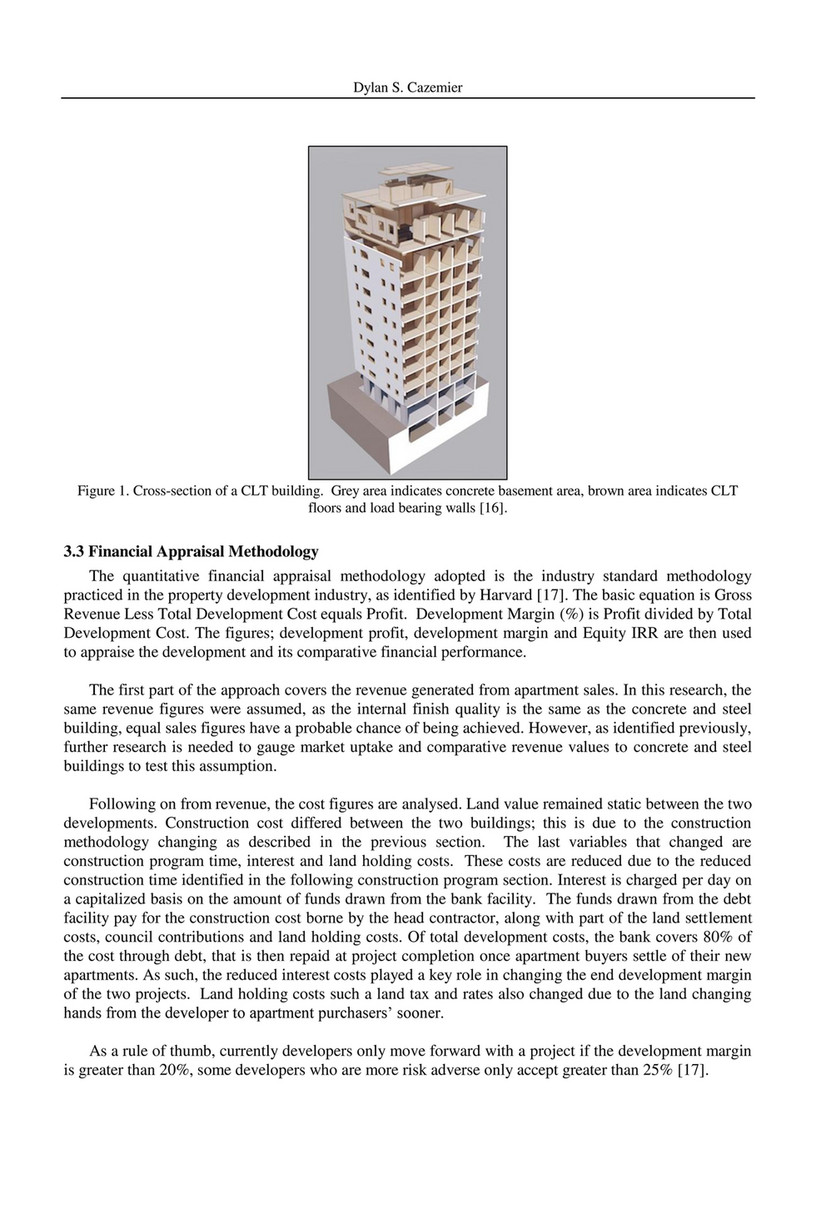 2017 MOC - COMPARING CROSS LAMINATED TIMBER WITH CONCRETE