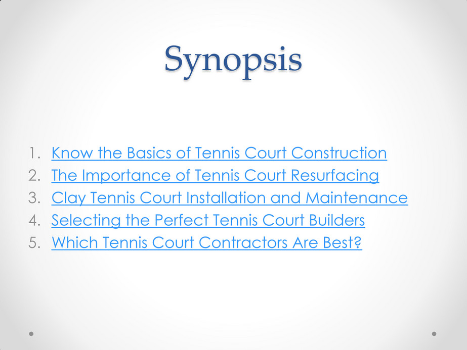 CrowAll - More About Tennis Court Construction & Resurfacing - Page