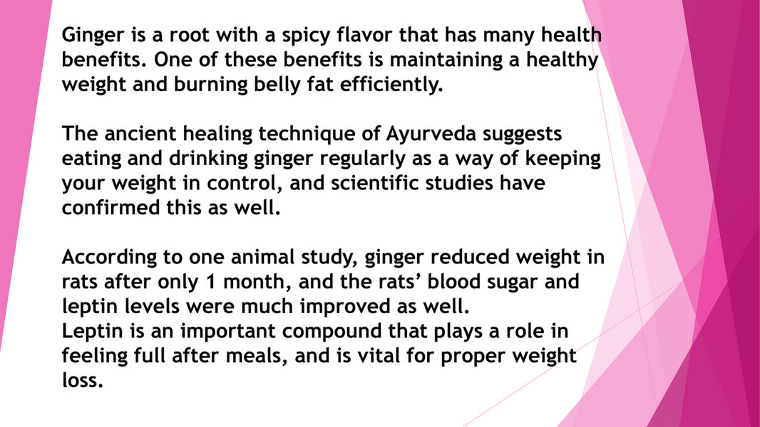 My Publications Lose Weight Fast And Belly Fat With Ginger Page 3 Created With Publitas Com