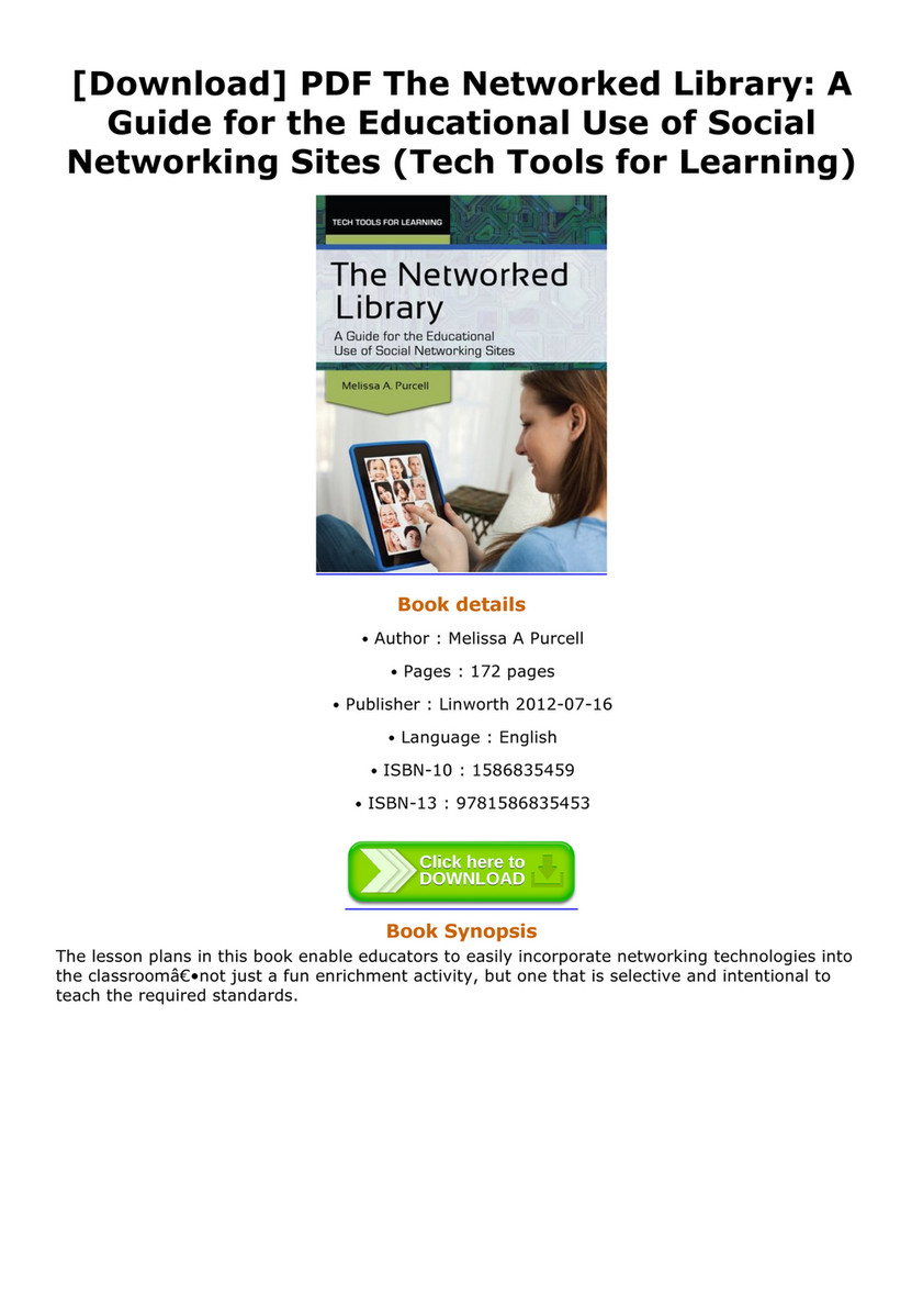 Boor - Download PDF The Networked Library A Guide for the