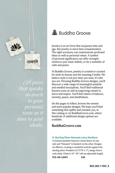 Buddha Groove Jewelry Catalog - Issue 11 - Page 2-3