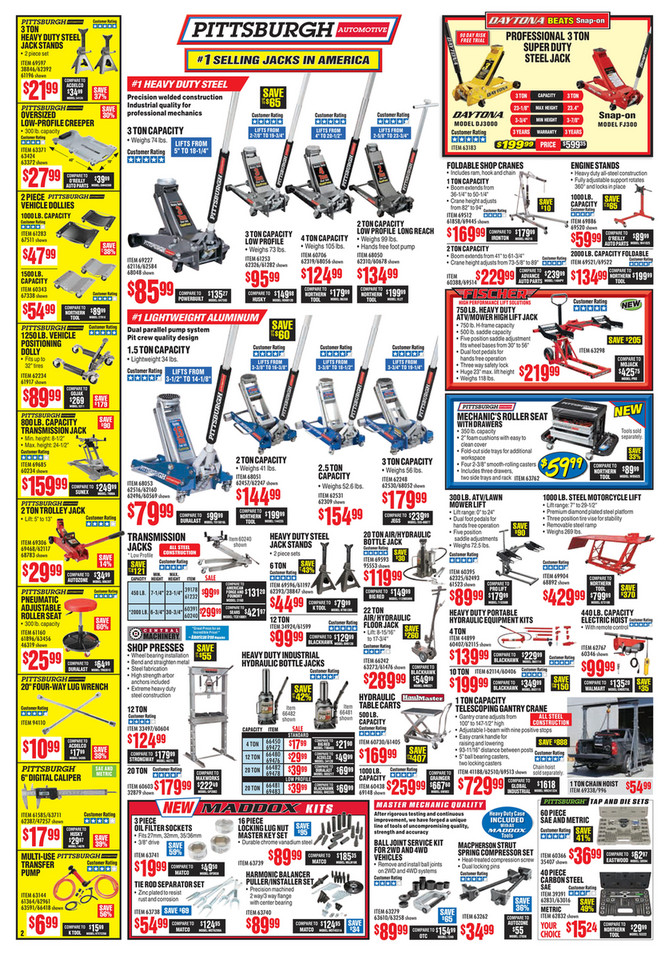 Monthly ad 116 november 2017 issue 8772 harbor freight sciox Gallery