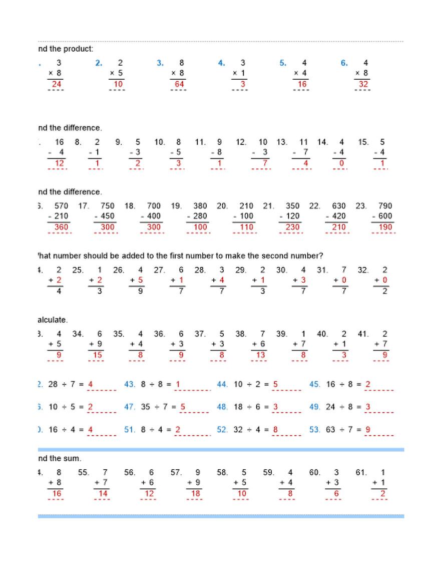 - Ninalazina - Addition Subtraction Multiplication Division
