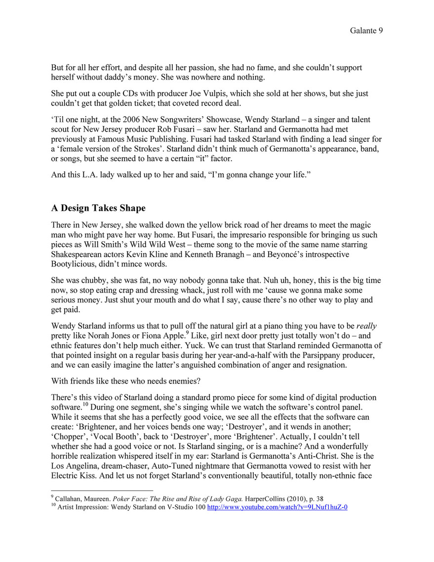 Matthew Galante - All We Hear is Lady Gaga - Page 9 - Created with