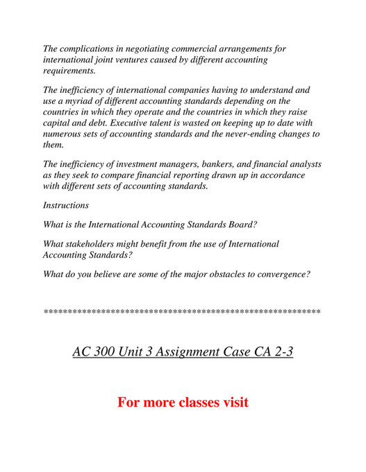 Ashford University - AC 300 Course Marvelous Learning