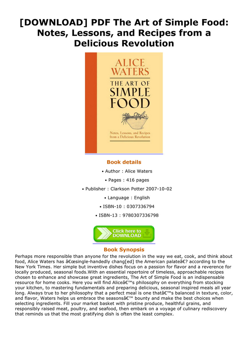 Abook download pdf the art of simple food notes lessons and download pdf the art of simple food notes lessons and recipes forumfinder Image collections