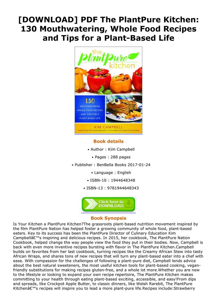 Debbra download pdf the plantpure kitchen 130 mouthwatering whole download pdf the plantpure kitchen 130 mouthwatering whole food recipes and tips forumfinder Choice Image