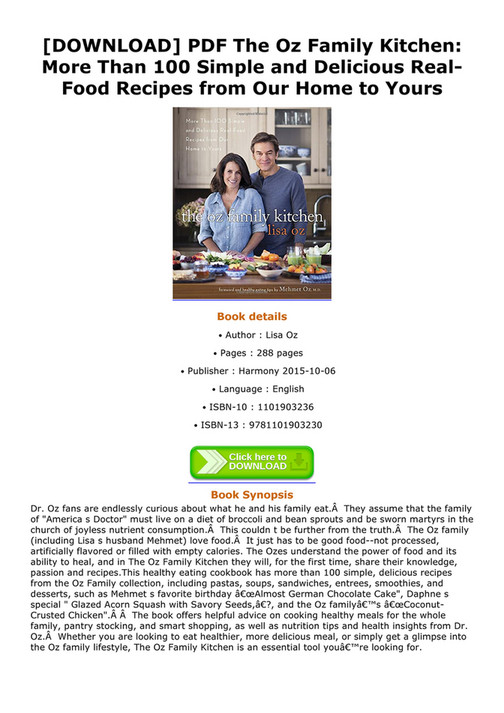 Abook download pdf the oz family kitchen more than 100 simple and download pdf the oz family kitchen more than 100 simple and delicious realfood forumfinder Images