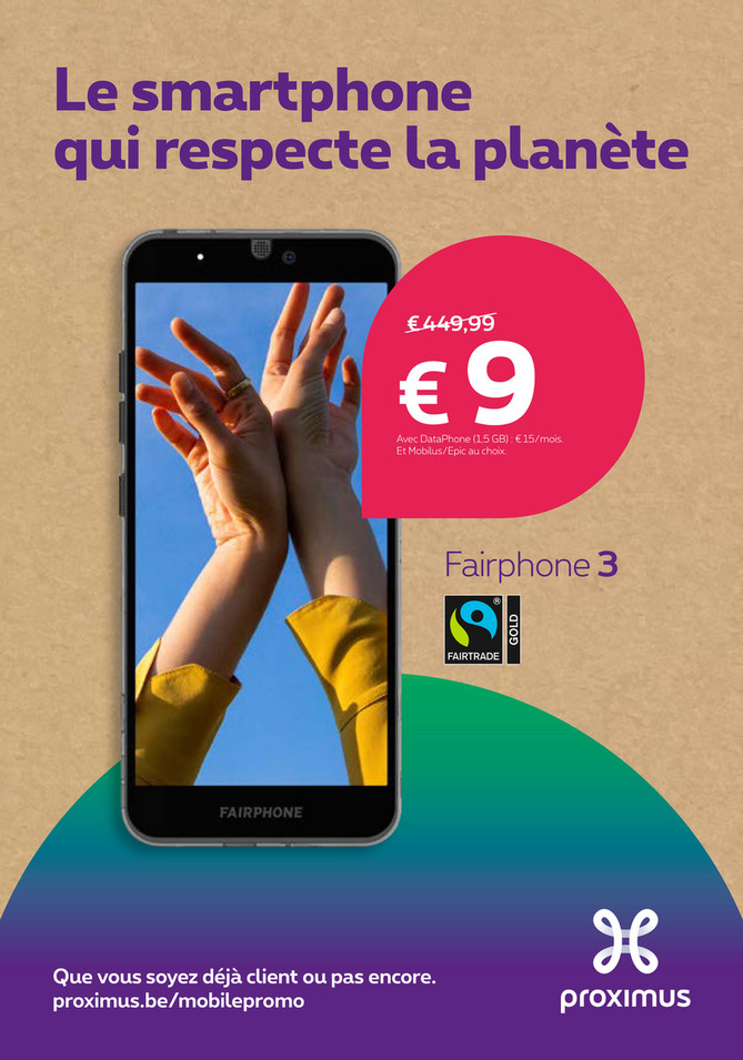 Folder Proximus du 25/03/2020 au 31/03/2020 - Promotions de la semaine 11a