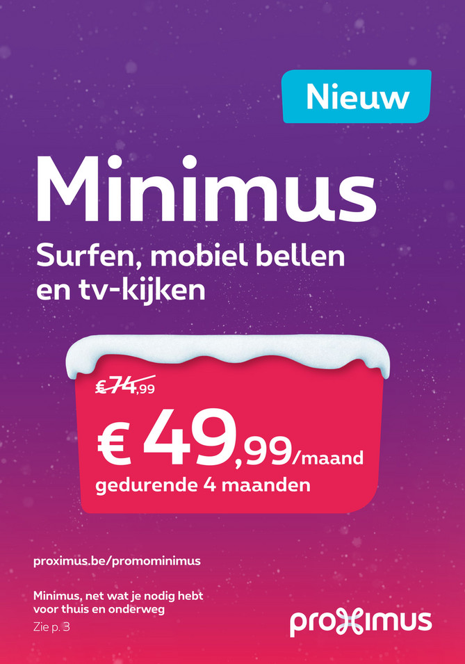 Proximus folder van 11/12/2017 tot 14/01/2018 - nl zonder tv PXM-11037-D2D-Promo News MT12 210x300