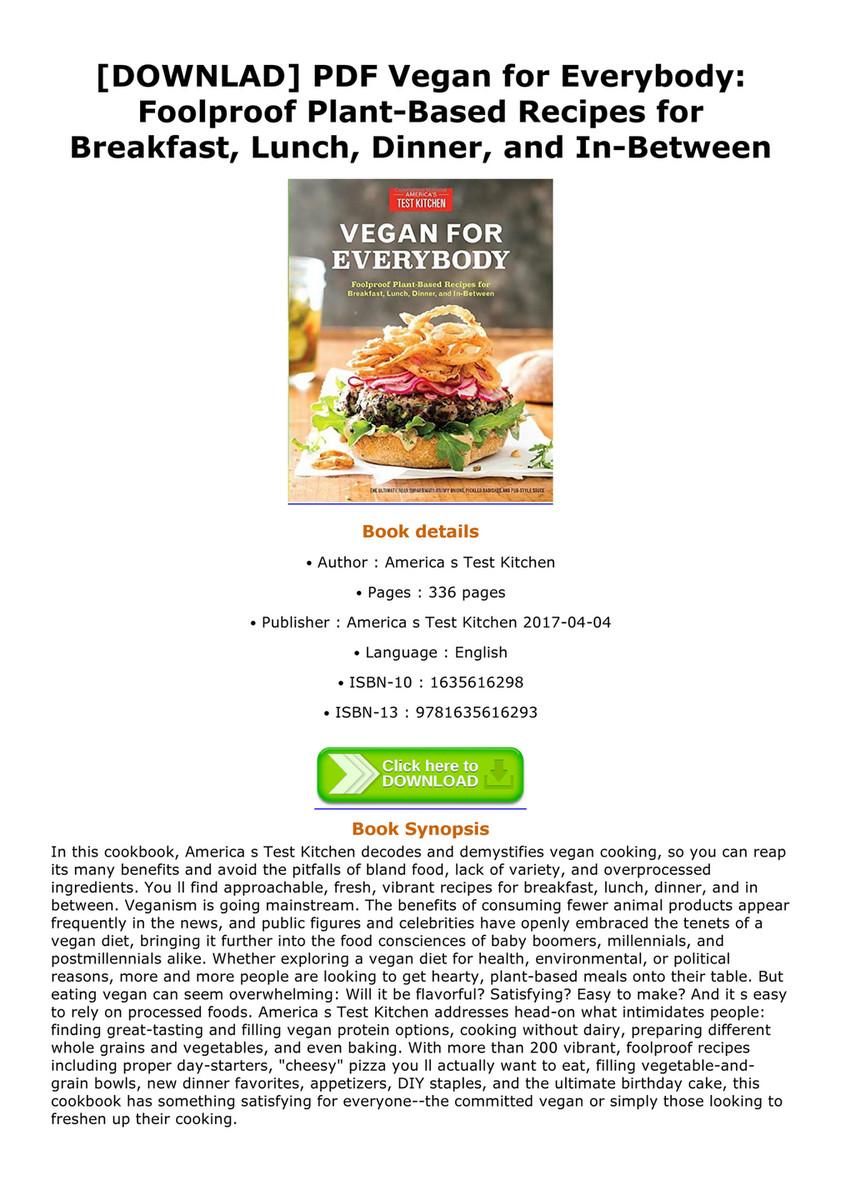 Leopoldo downlad pdf vegan for everybody foolproof plant based downlad pdf vegan for everybody foolproof plant based recipes for breakfast forumfinder Choice Image