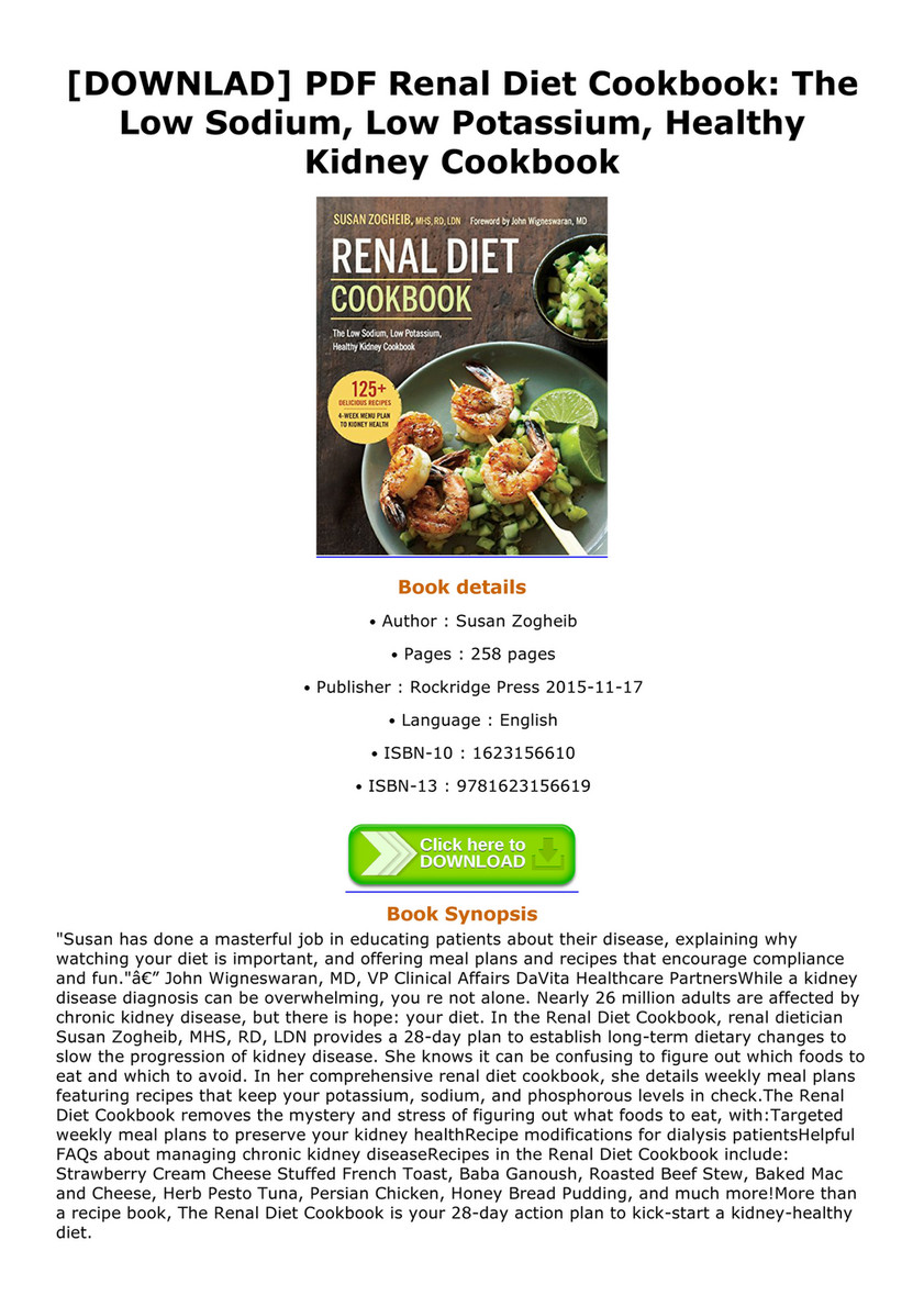 Bryan downlad pdf renal diet cookbook the low sodium low potassium downlad pdf renal diet cookbook the low sodium low potassium healthy forumfinder Image collections