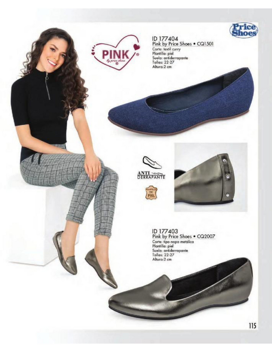 Catalog Price Shoes Vestir Casual 2018 Página 116 117