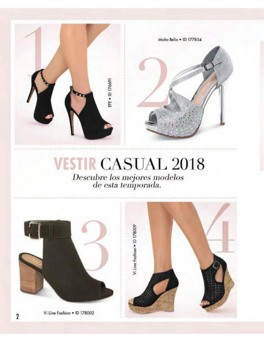 Catalog Price Shoes Vestir Casual 2018 Página 1