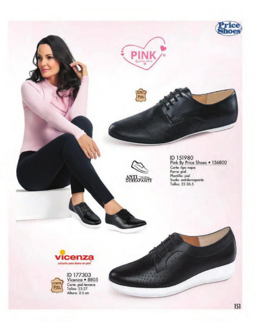 Catalog Price Shoes Vestir Casual 2018 Página 152 153