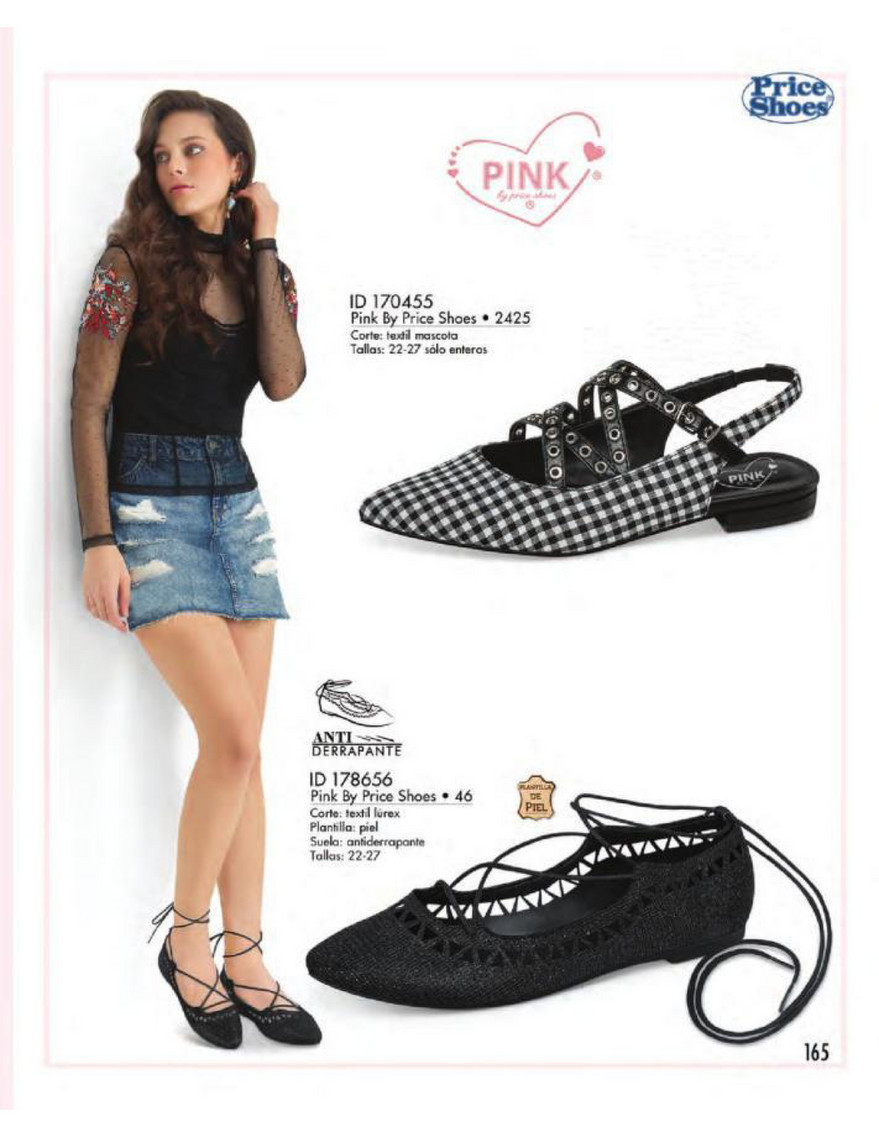 Catalog Price Shoes Vestir Casual 2018 Página 166 167