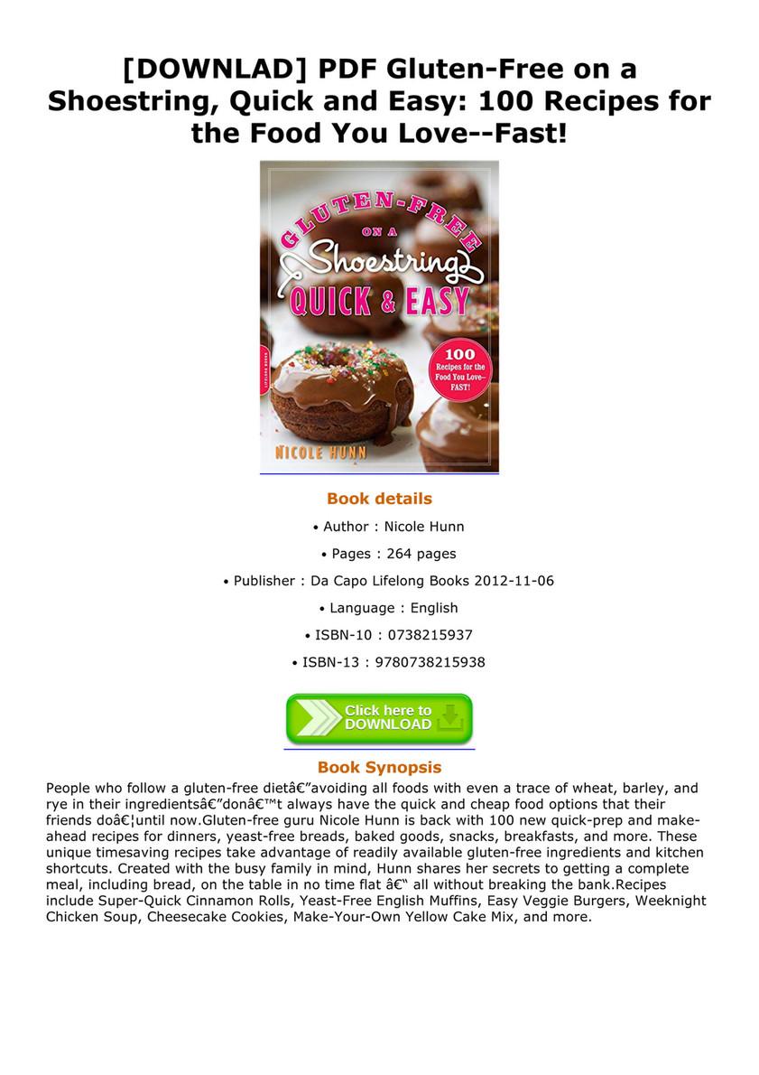Bridges downlad pdf gluten free on a shoestring quick and easy 100 downlad pdf gluten free on a shoestring quick and easy 100 forumfinder Image collections