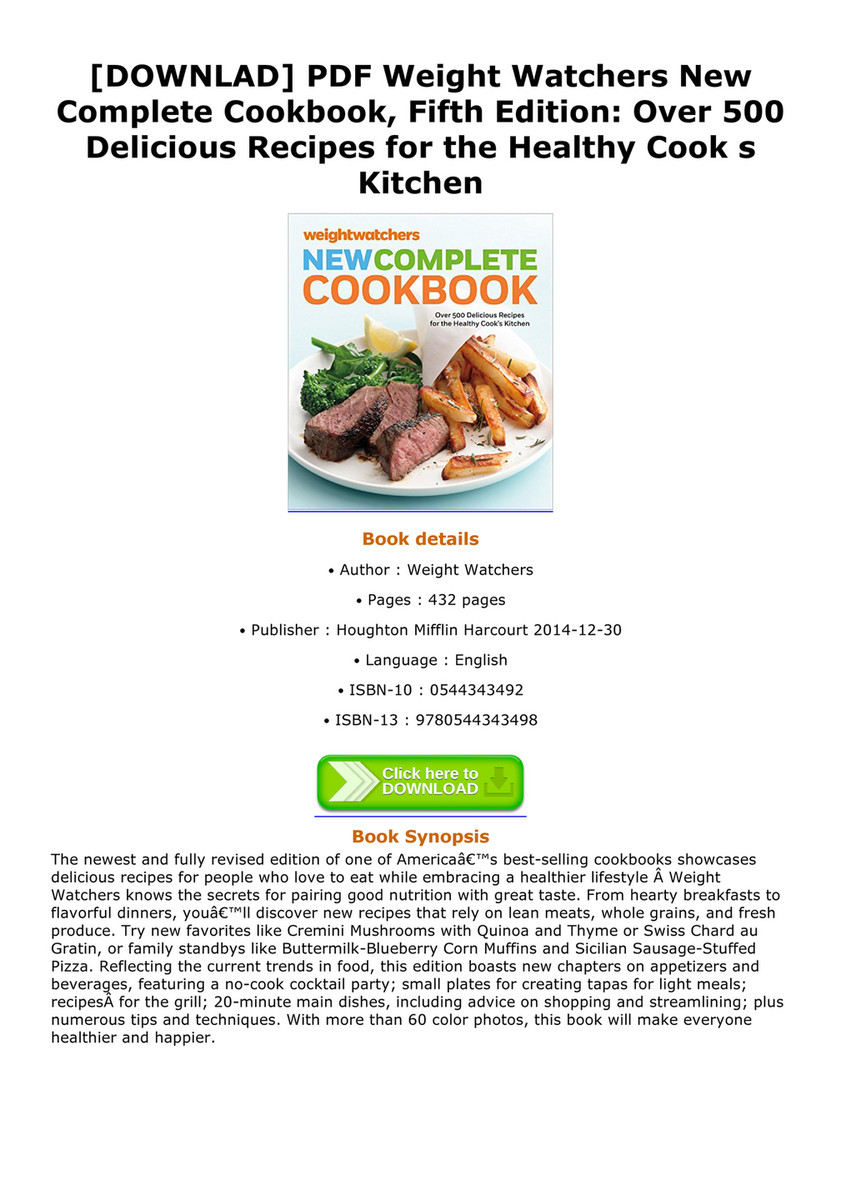 Daren downlad pdf weight watchers new complete cookbook fifth downlad pdf weight watchers new complete cookbook fifth edition over 500 delicious forumfinder Choice Image