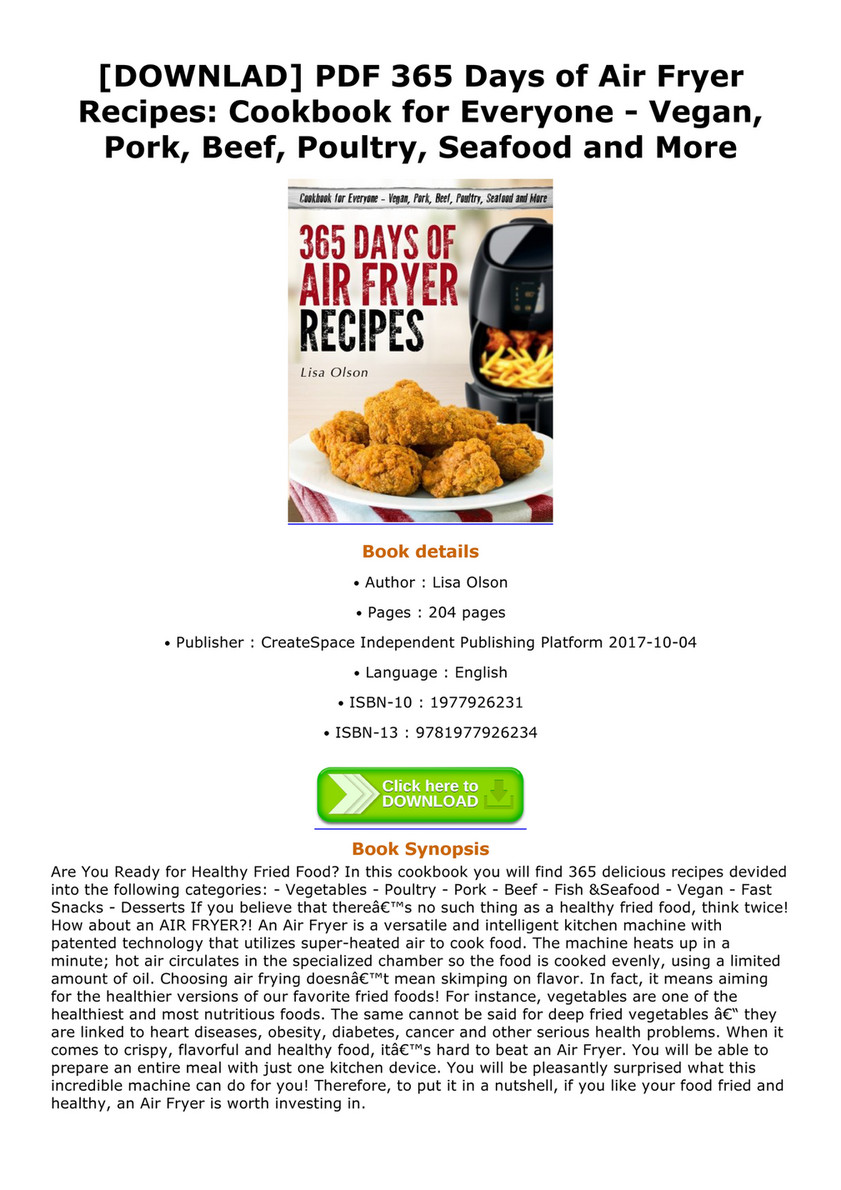 Farrer downlad pdf 365 days of air fryer recipes cookbook for downlad pdf 365 days of air fryer recipes cookbook for everyone vegan forumfinder Image collections