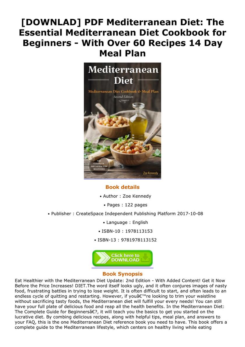 Aubrey downlad pdf mediterranean diet the essential mediterranean downlad pdf mediterranean diet the essential mediterranean diet cookbook for beginners with forumfinder Choice Image