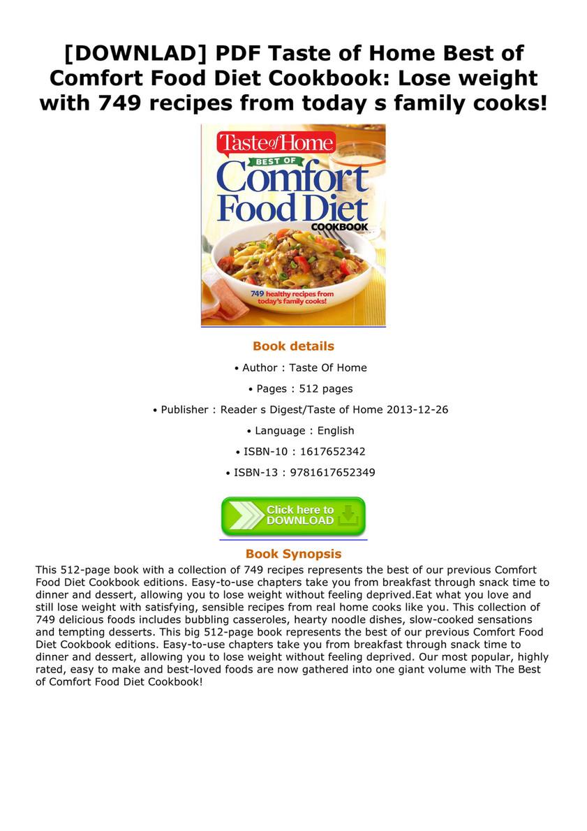 Joey downlad pdf taste of home best of comfort food diet cookbook downlad pdf taste of home best of comfort food diet cookbook lose weight forumfinder Images