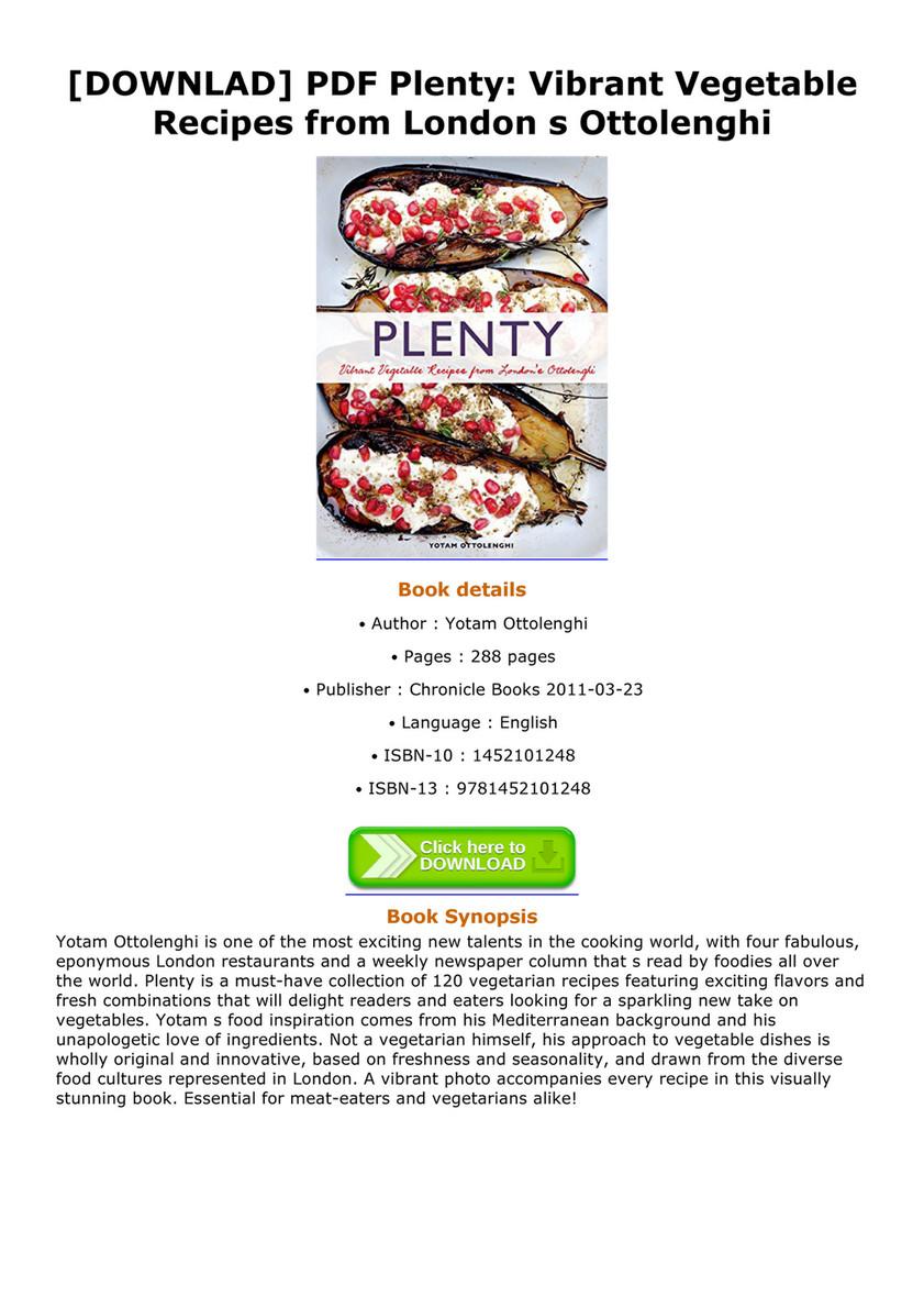 Deirdre downlad pdf plenty vibrant vegetable recipes from london s downlad pdf plenty vibrant vegetable recipes from london s ottolenghi plenty vibrant forumfinder Image collections
