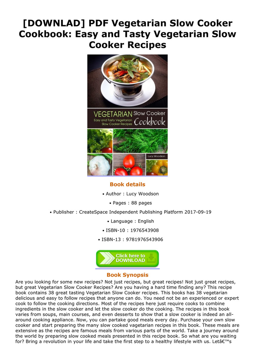 Vicky downlad pdf vegetarian slow cooker cookbook easy and tasty downlad pdf vegetarian slow cooker cookbook easy and tasty vegetarian slow cooker recipes forumfinder Image collections