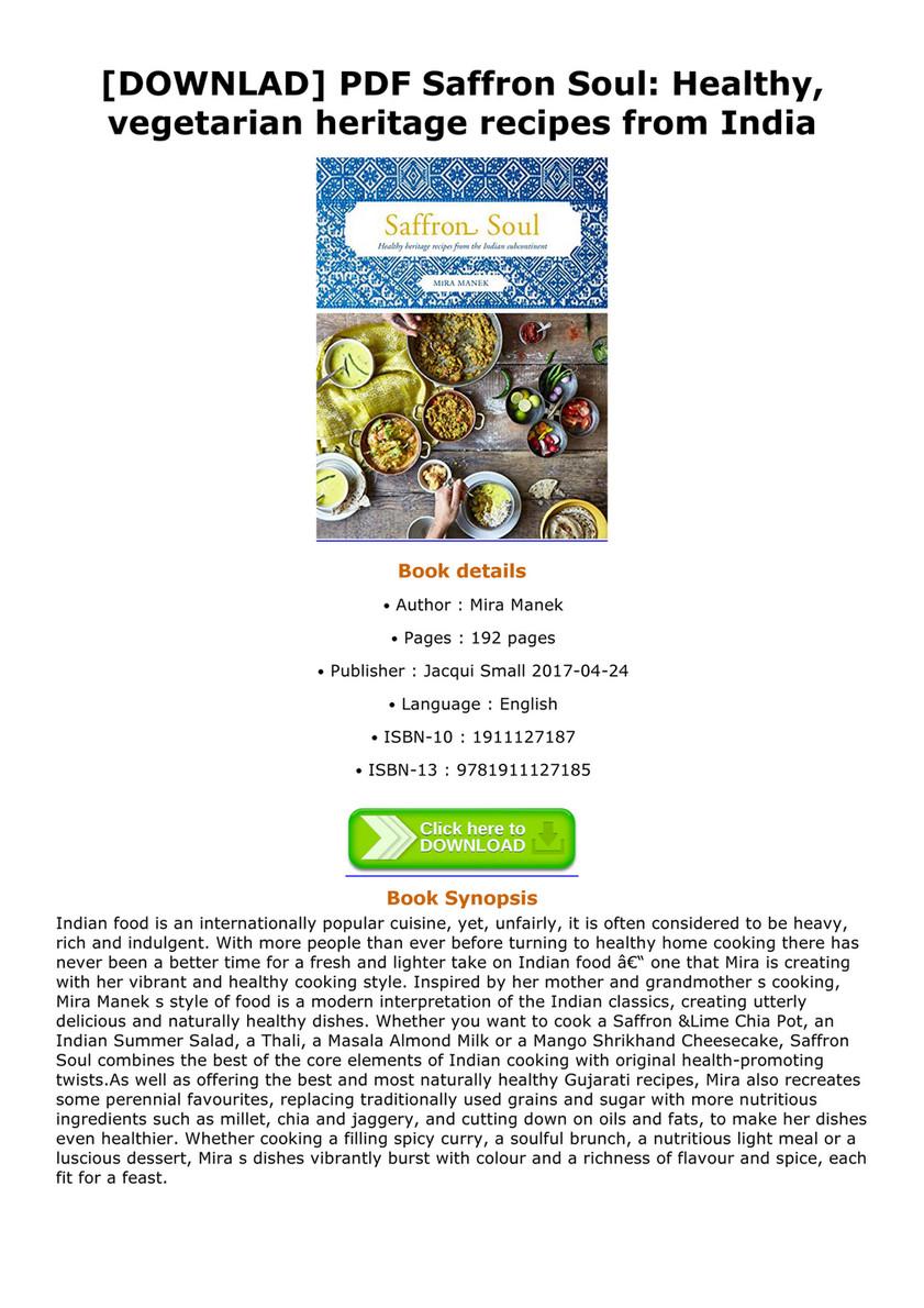 Daniella downlad pdf saffron soul healthy vegetarian heritage downlad pdf saffron soul healthy vegetarian heritage recipes from india saffron soul forumfinder Gallery