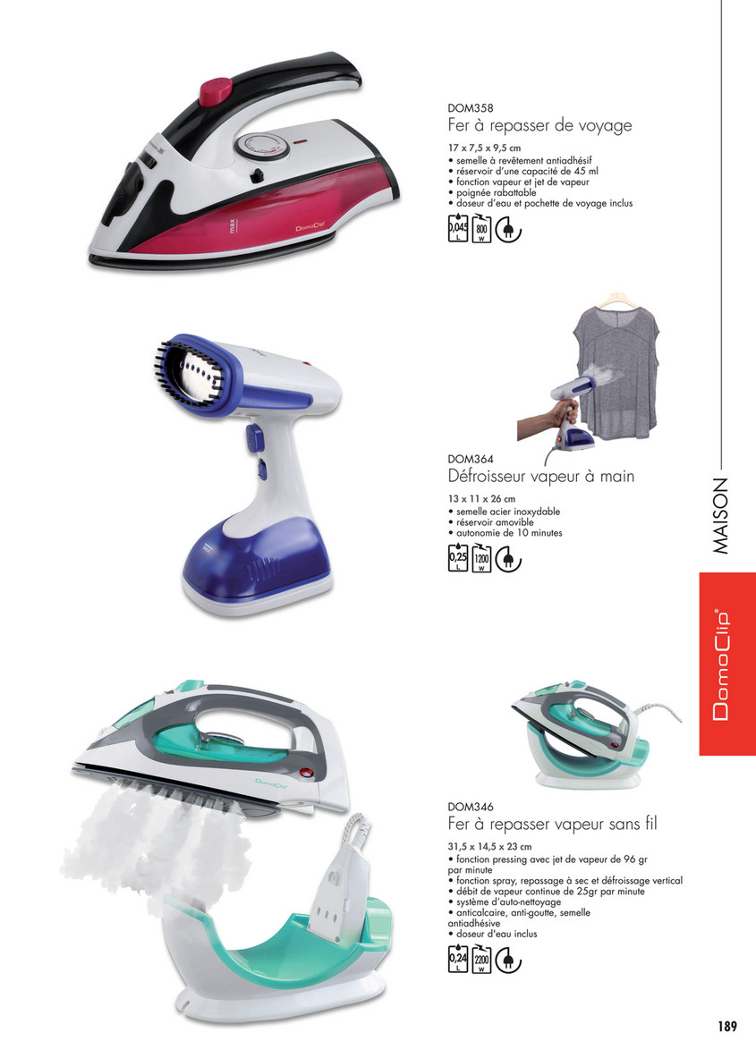 Nettoyer Semelle De Fer delta import - domoclip - page 72-73 - created with publitas
