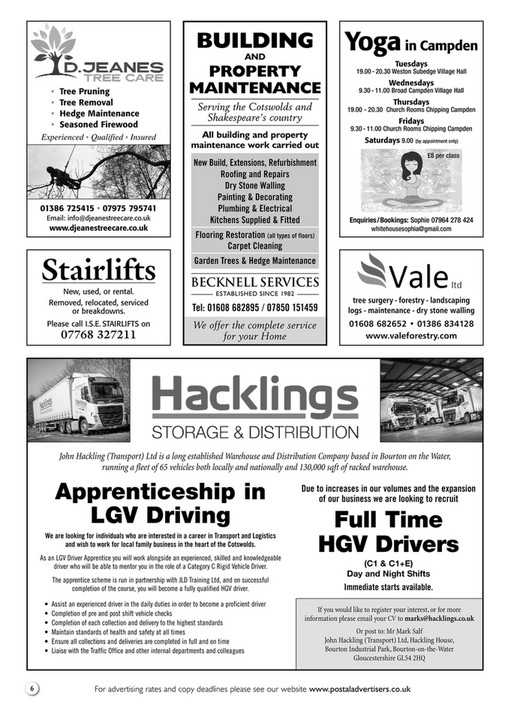 Postal Advertisers Limited - campden-and-broadway-postal-advertiser