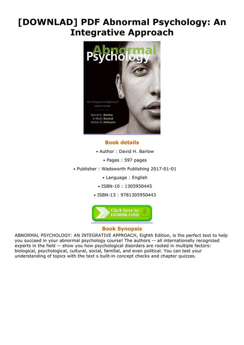 Pdf biological psychology