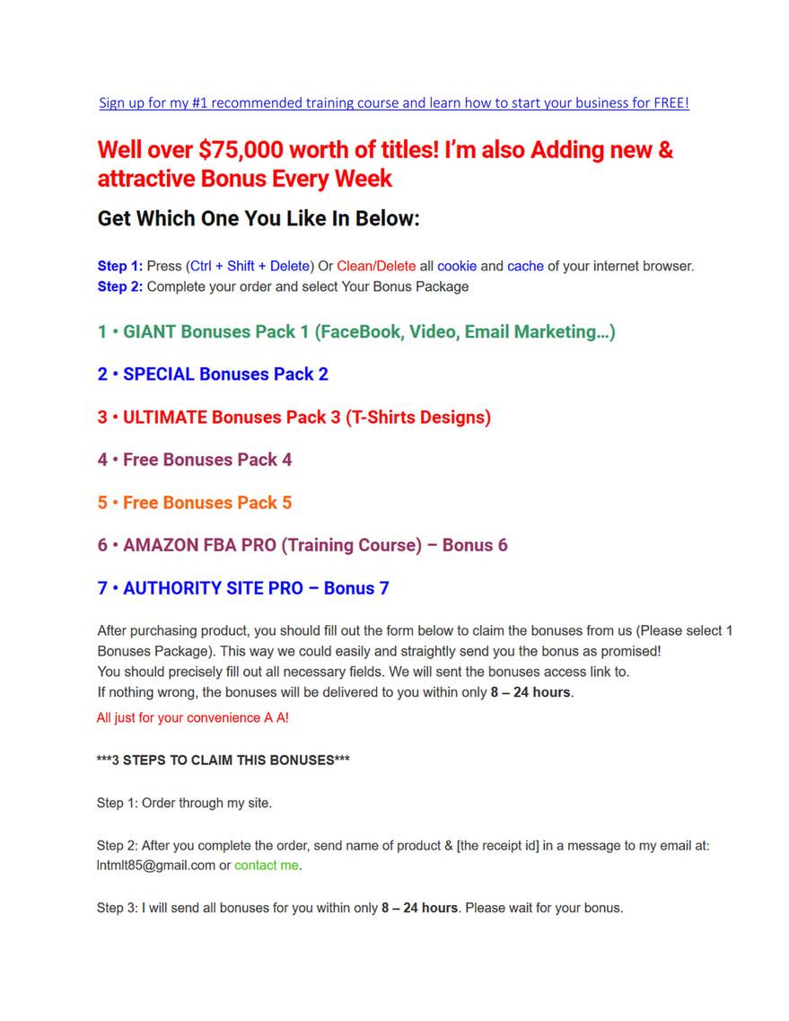 fba toolkit free version
