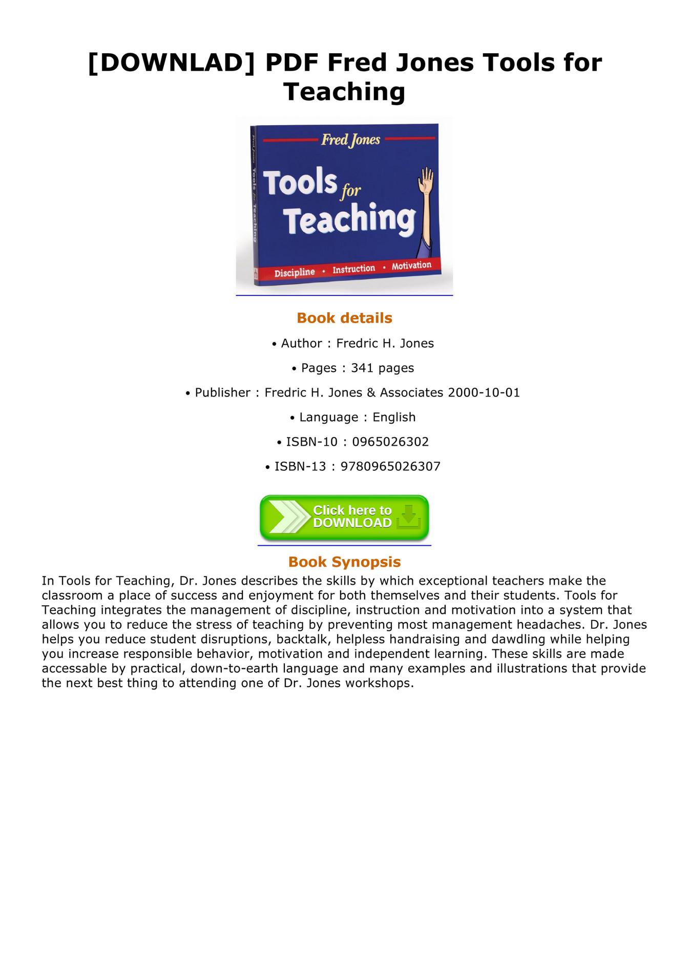 Pdf tools for teaching