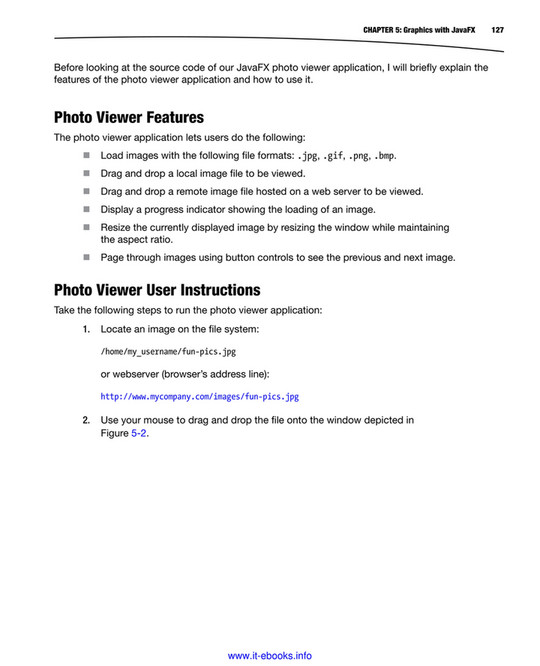 home - JavaFX 8, 2nd Edition - Page 132-133 - Created with Publitas com