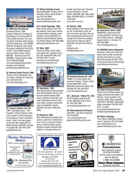 Points East Magazine - Points East Magazine, March/April