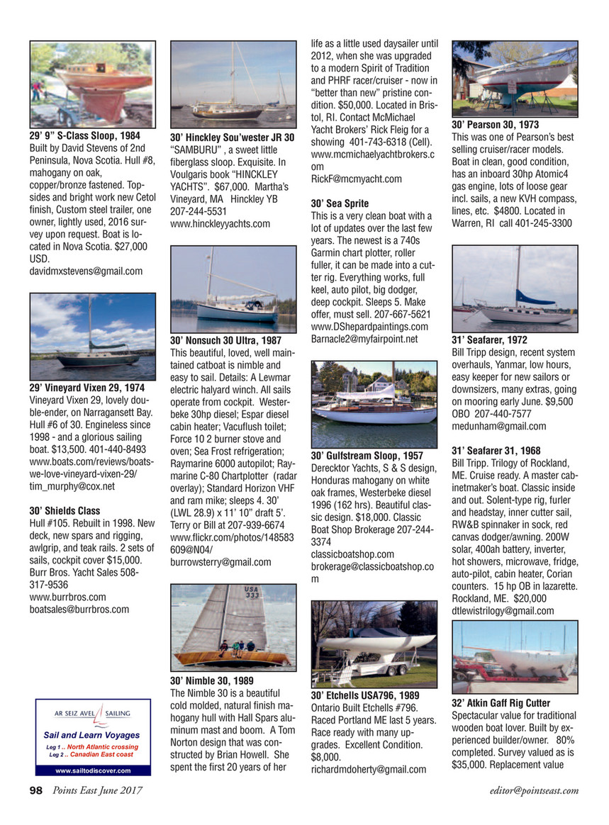 Points East Magazine Points East Magazine June 2017 Page 98