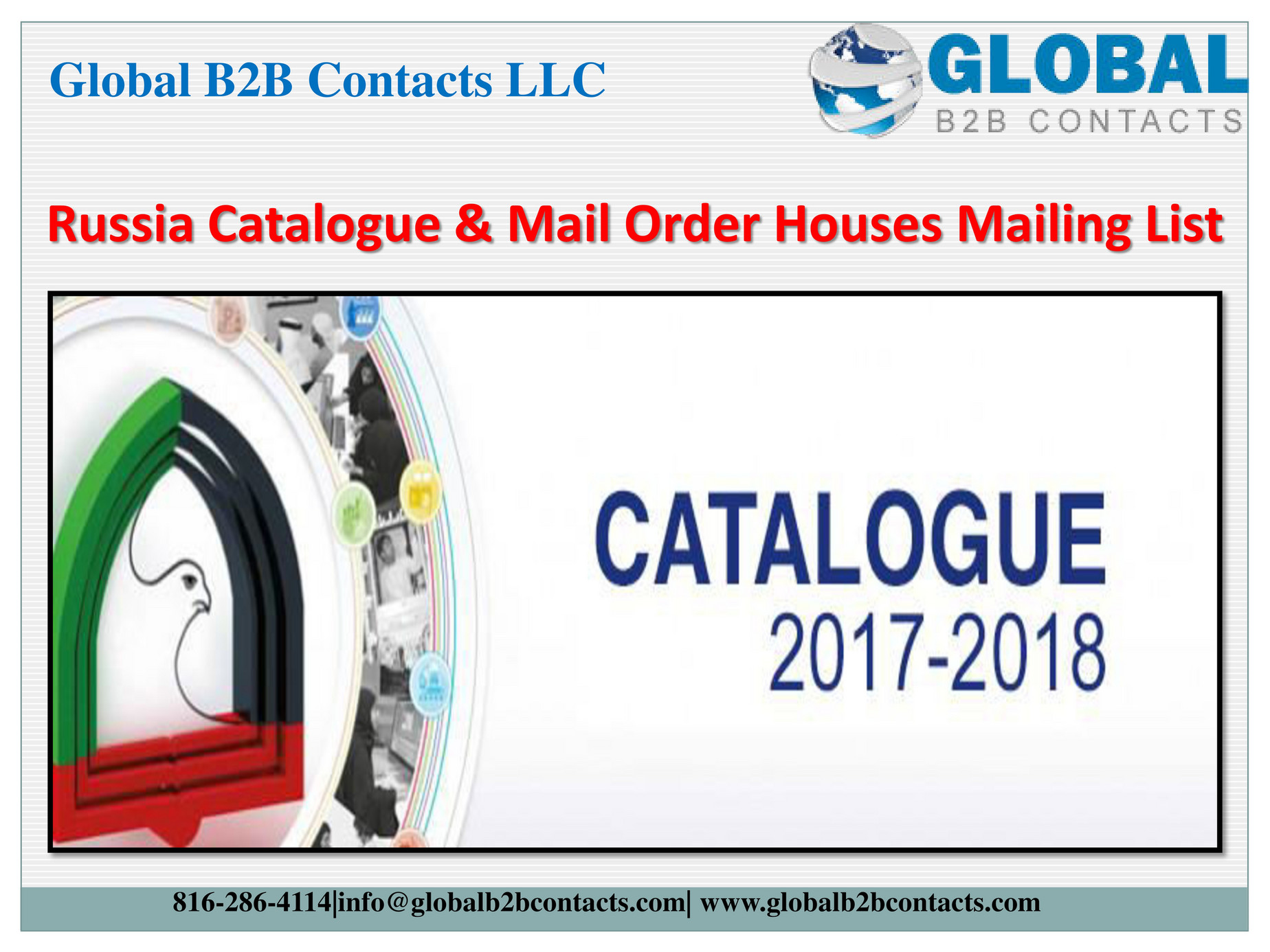 Globalb2bcontacts LLC - Russia Catalogue & Mail Order Houses Mailing