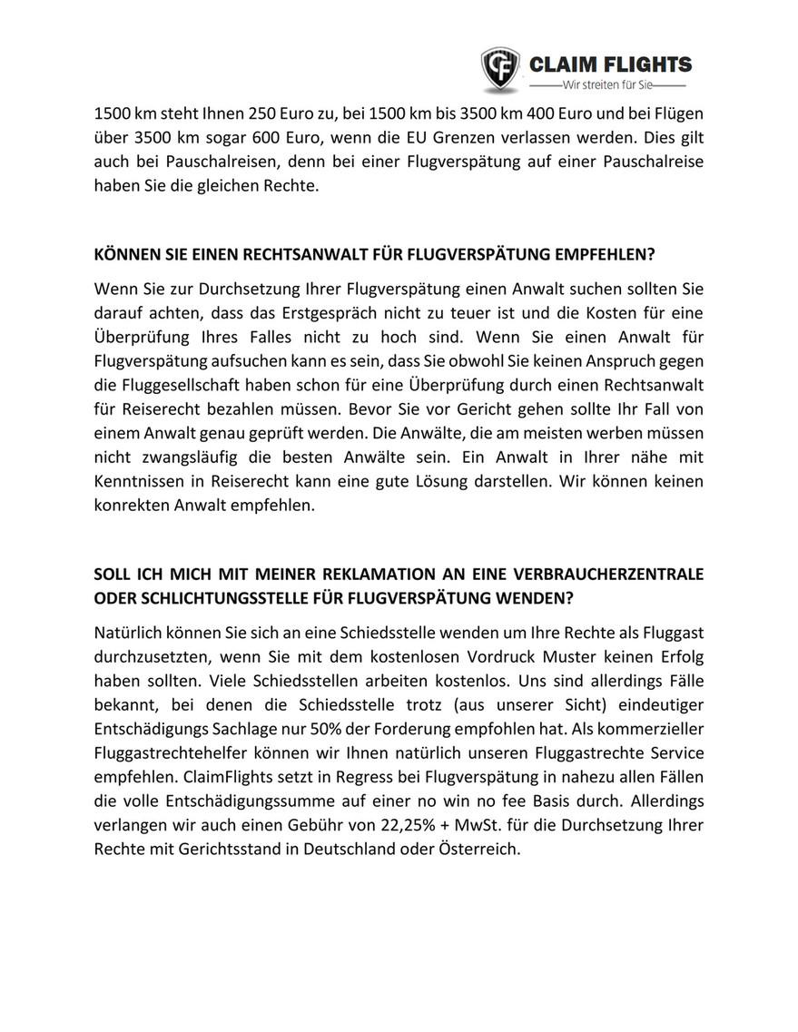 My Publications Flugverspatung Entschadigung 2
