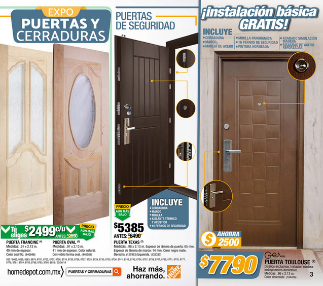 The Home Depot Mexico En Linea 850 735 Pue Pagina 2 3