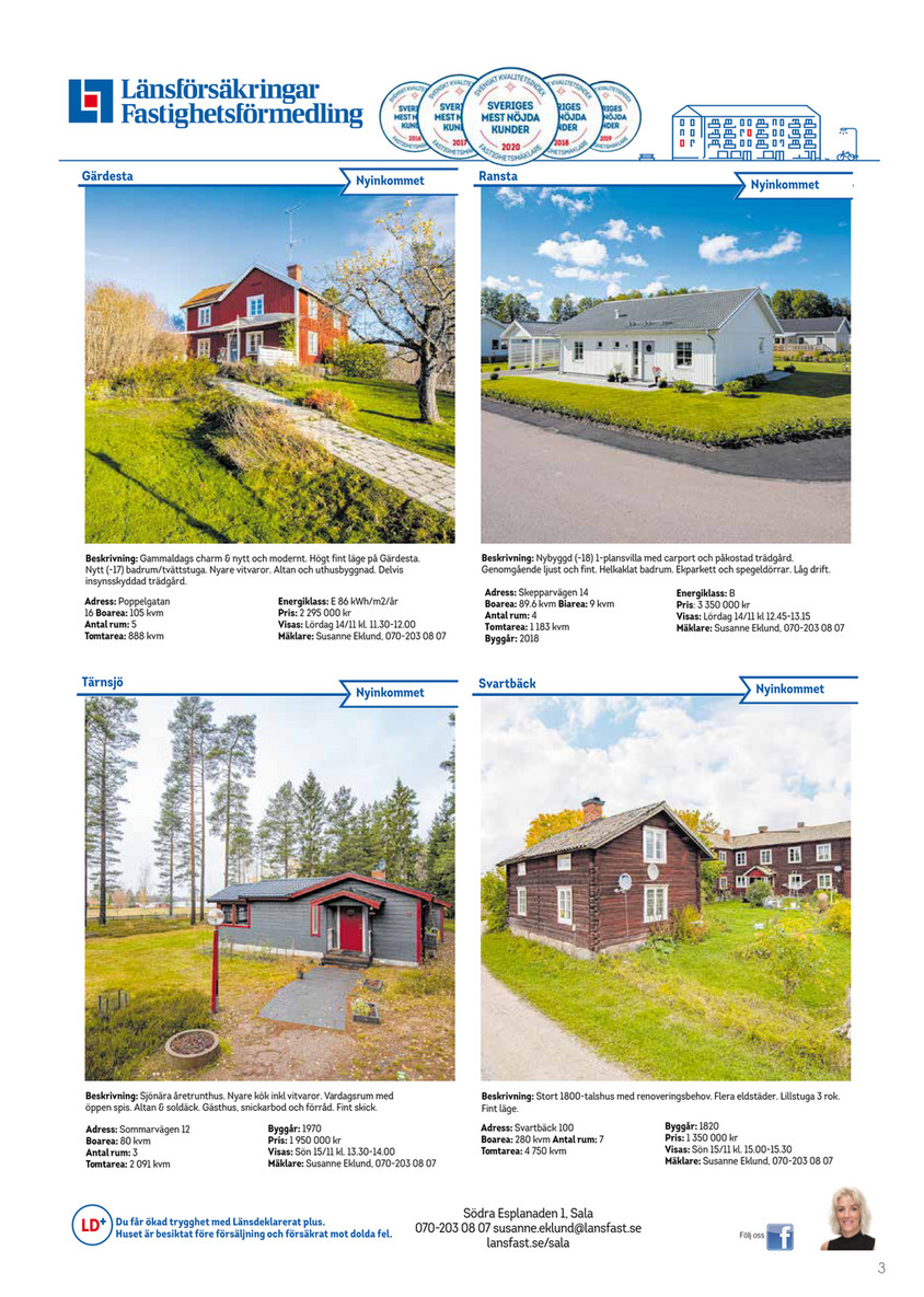 Picture of: My Publications Salatidningen V 46 Sida 1 Created With Publitas Com